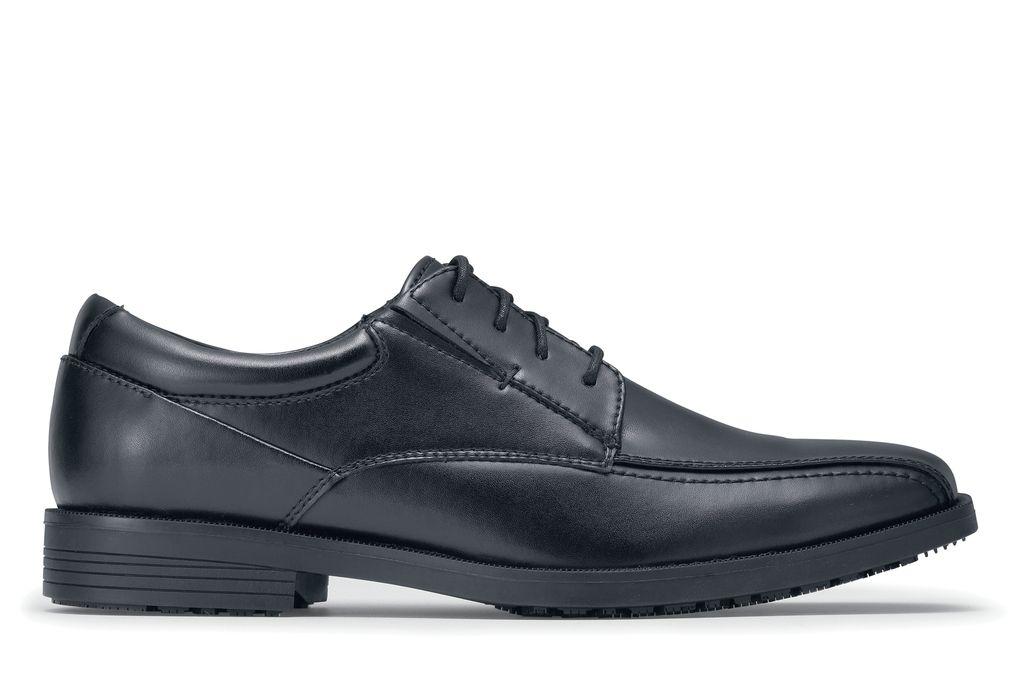 e0dfc53f01 Dockers Partner II - Men s Black - Slip-Resistant Leather Dress ...