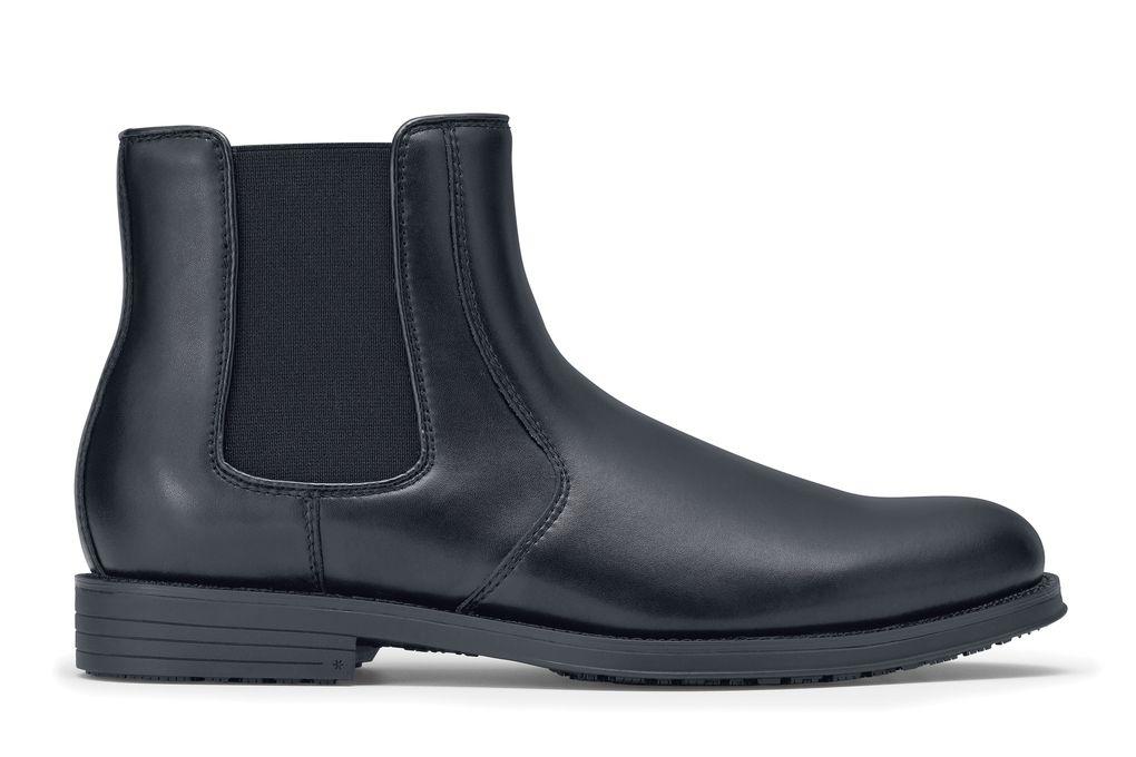 719a29bf135bb Dockers Ashford - Men s - Leather Black Slip-Resistant Dress Shoes ...