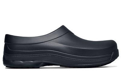 d1d6cb232395 Radium  Black Slip-Resistant Work Clogs