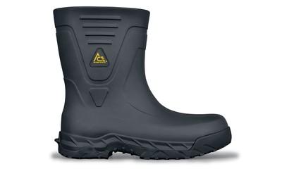 Bullfrog Pro II  Black Soft Toe Non-Slip Work Boots  cdabaaba9ed2