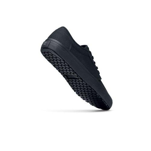Casual Canvas Black Slip-Resistant