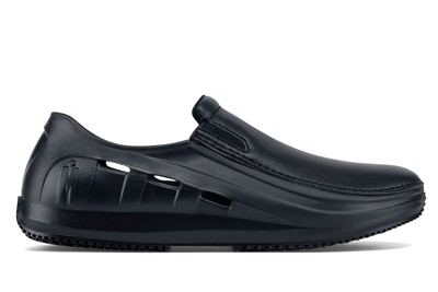 037cb8c6f86 MOZO - Sharkz - Men's / Black - Slip-Resistant Chef Shoes - Shoes For
